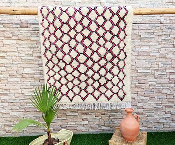 Tapis berbère azilal  154 x 90 cm