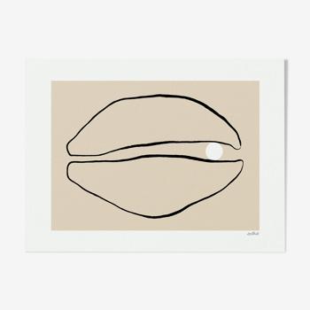 Impression giclée Pearl
