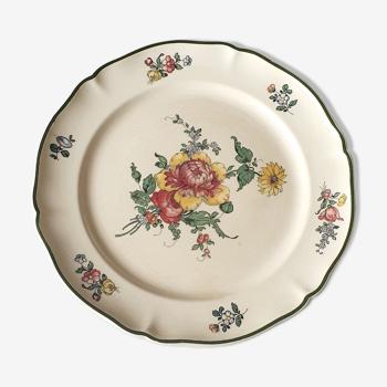 Assiette décorative ancienne Villeroy et Boch