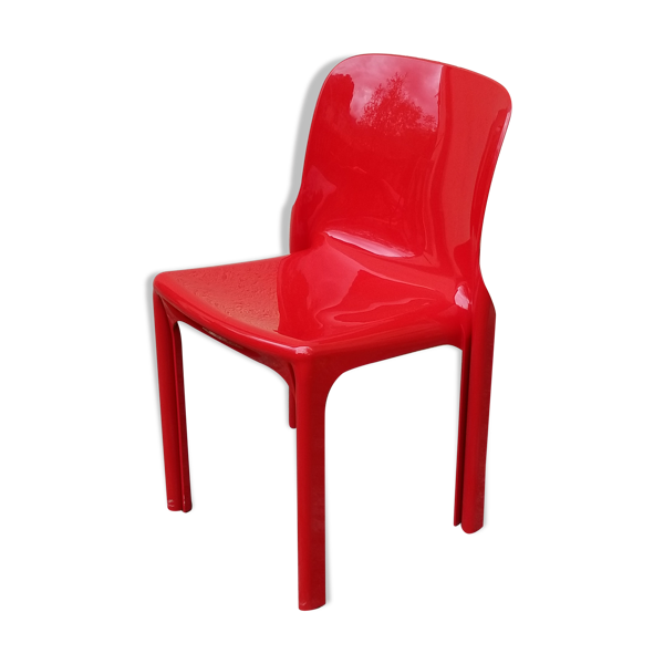 Selency Chaise de Vico Magistretti pour Artemide design italien 1960