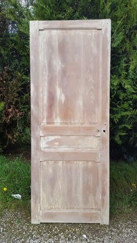 Porte de séparation moulurée ancienne