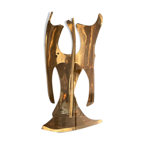 Table basse sculpture Frédéric Brouard