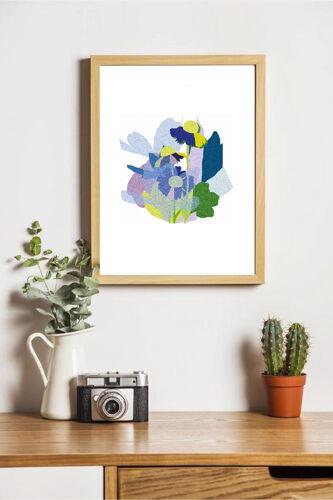 African daisy - illustration en édition limitée, format A4 Elisa Brouet