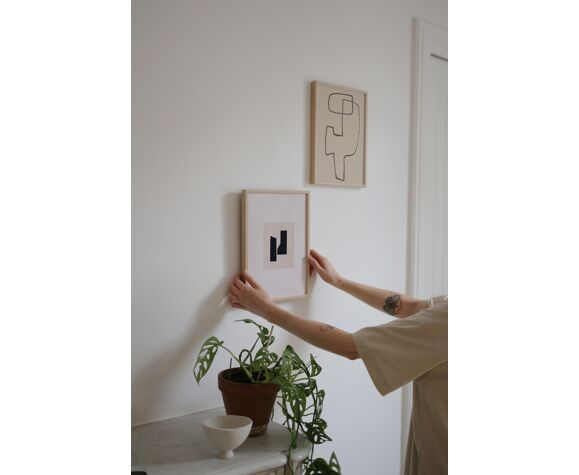 "Illustration ""Andlit"" par Harrt Studio"