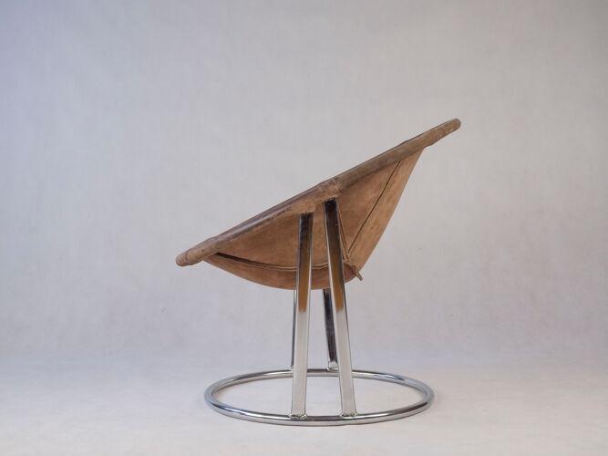Fauteuil de E. Lusch pour Lusch & Co, Allemagne, années 1960