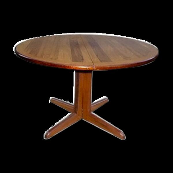 Table de salle à manger scandinave en palissandre extensible