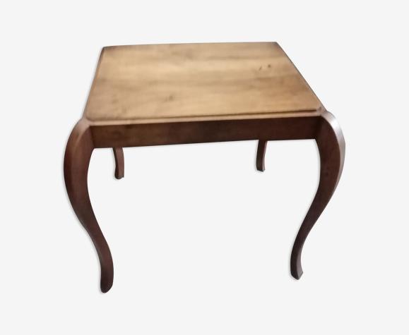 Table d'appoint en bois années 30