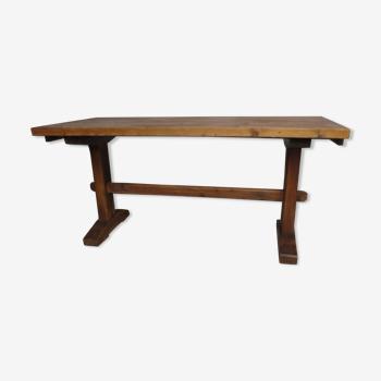 Table rustique en sapin