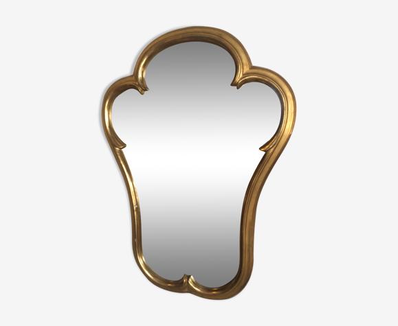 Miroir doré 48x63cm