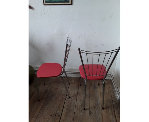 Chaises vintages années 60/70