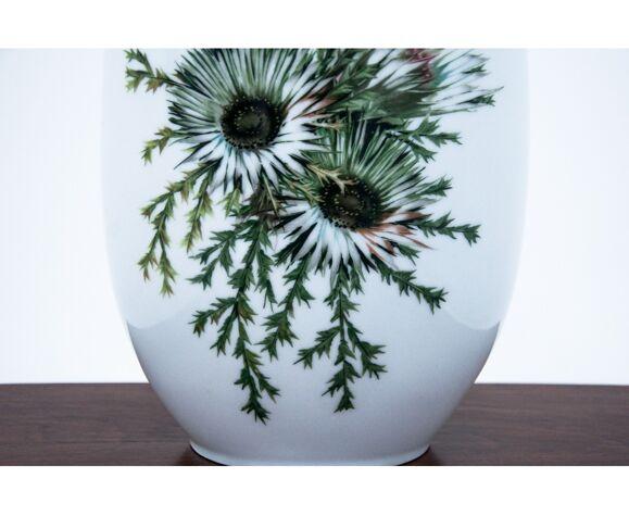 Vase en porcelaine, Allemagne, Thomas mark.