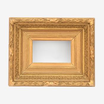 Cadre en bois doré