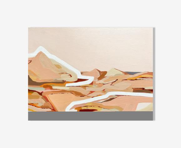 Rusty Desert Peinture acrylique originale