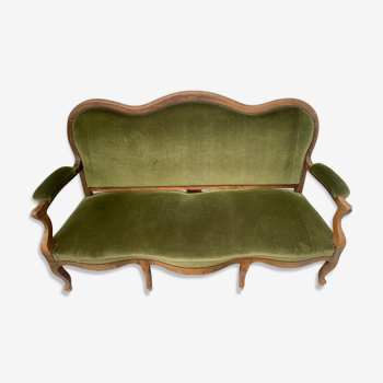 Banquette style Louis Philippe
