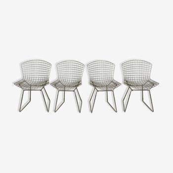 Ensemble de 4 chaises par Harry Bertoia pour Knoll