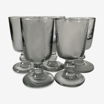 Set de 5 verres Holmegaard par Per Lutken