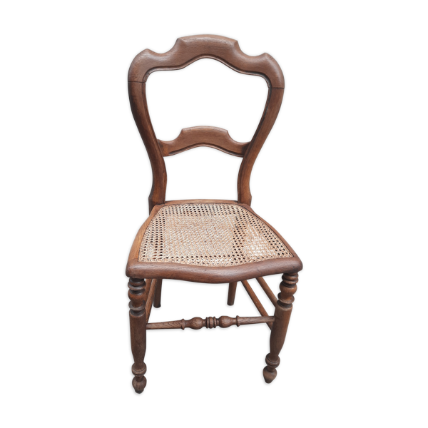 Chaise ancienne en cannage