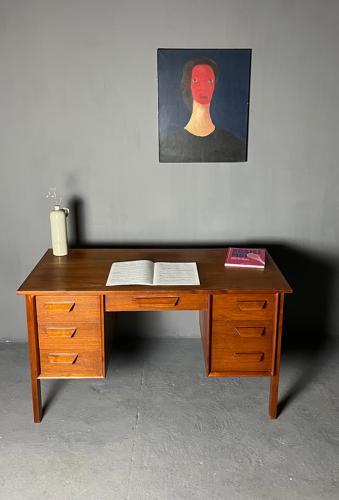 Modernist teak office