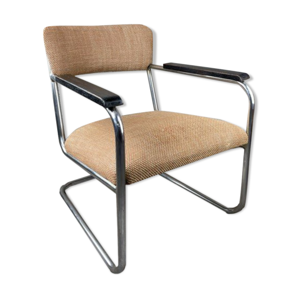 Selency Fauteuil vintage style Bauhaus