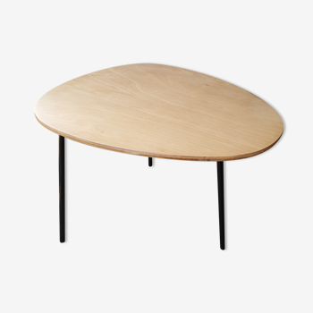Table basse tubulaire ovale