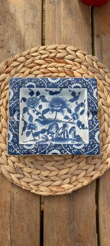 Cendrier vide poche porcelaine chinoise par Adele Carey