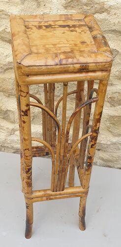 Porte-plantes en bambou des années 60
