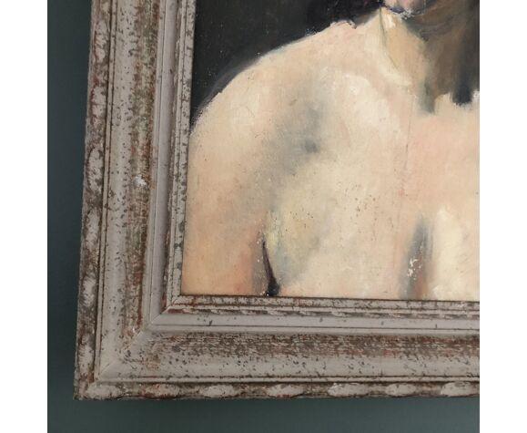 Portrait de femme en buste années 40