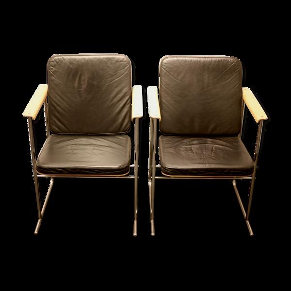 Selency 2 fauteuils Skaala par Yrjô Kukkapuro