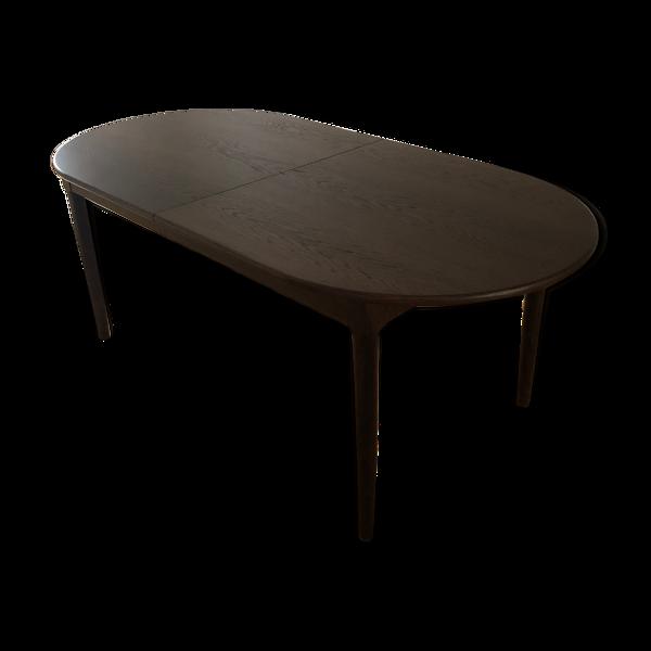 Table en chêne extensible