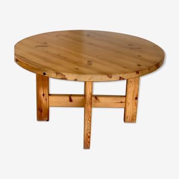 Table à manger en pin Roland Wilhelmsson modèle 152