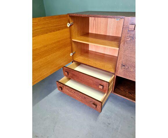 Buffet vintage design wengé bar meubles