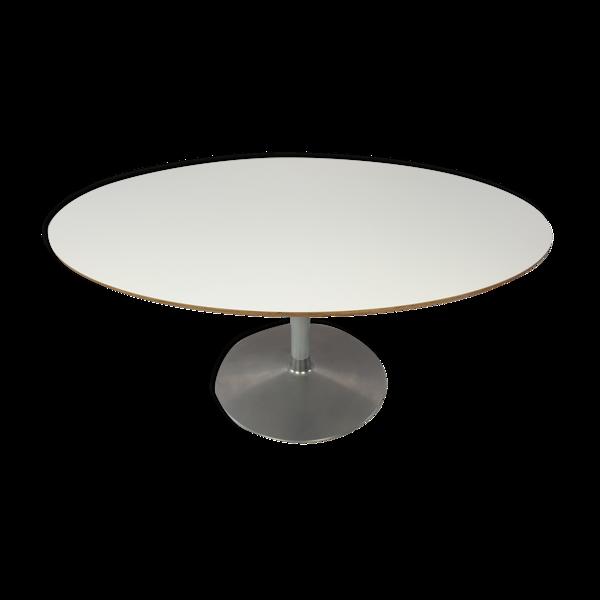 Table à manger ovale de Pierre Paulin pour Artifort années 1980
