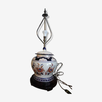 Lampe montée sur pot Imari Japon 19eme siecle