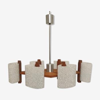 Scandinavian chandelier of the 60s