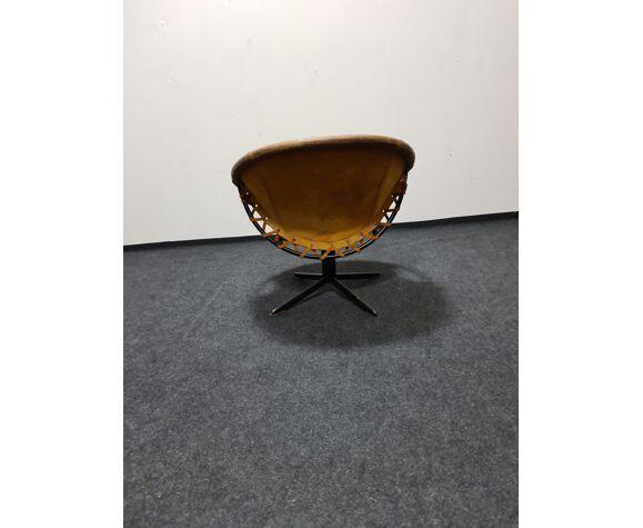 Chaise pivotante vintage Lusch & Co