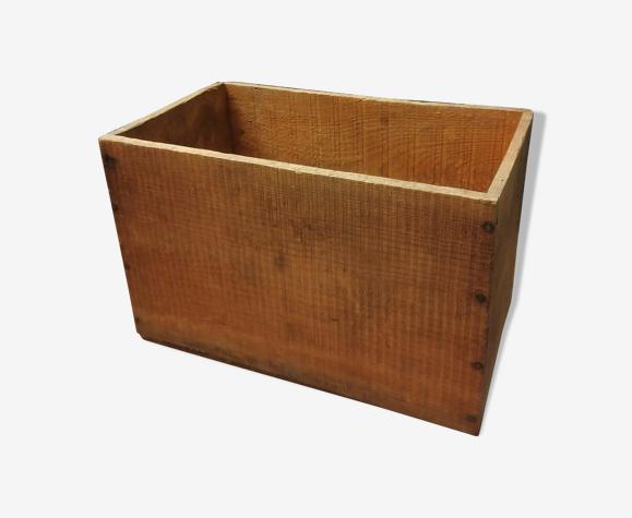 Ancienne caisse en bois - 1950