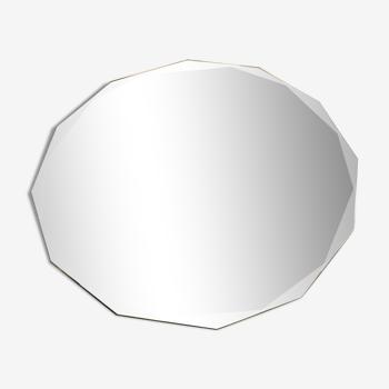 Miroir biseauté à poser 28x30cm