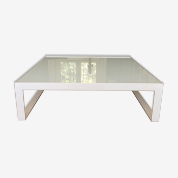 Table basse Habitat blanche