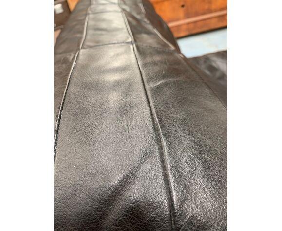 Chauffeuse cuir