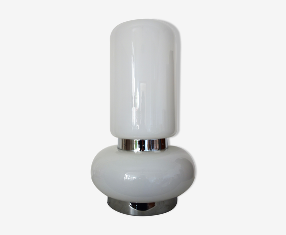 Lampe en verre de Murano des années 70