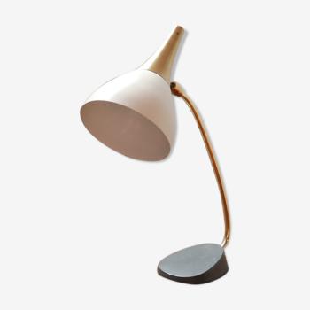 German Brass Mid-Century Desk Lamp