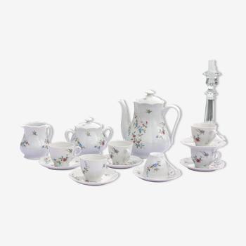 Service à café porcelaine de Limoges Haviland modèle Symphonie