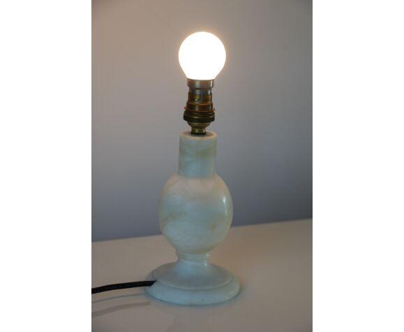 Alabaster lamp foot 200mm