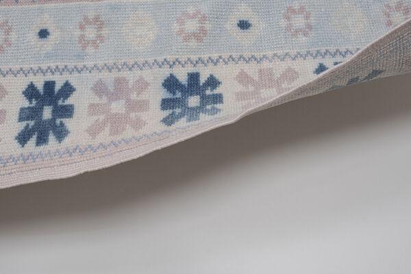 Tapis bleu turc de Kars, années 1970 95 x 137 cm