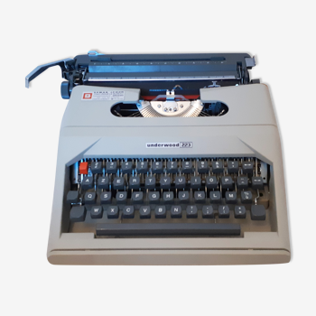Underwood typewriter, functional