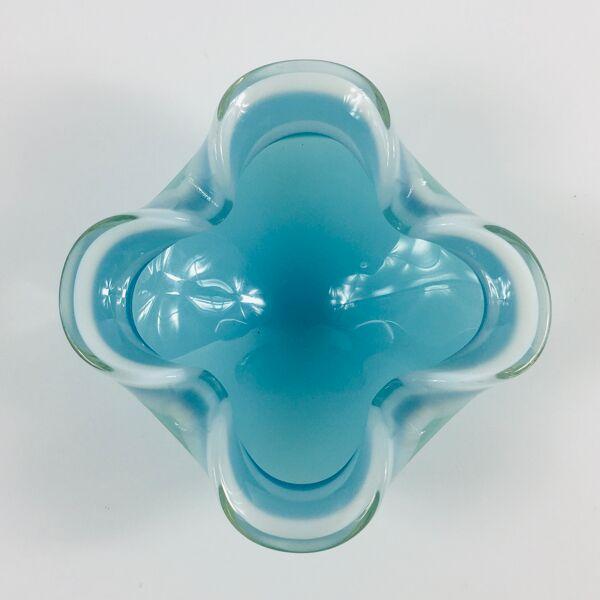 Cendrier en verre de Murano du milieu du siècle / Petit bol, années 1960