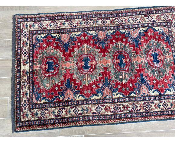 Tapis turc laine et soie 188x121cm
