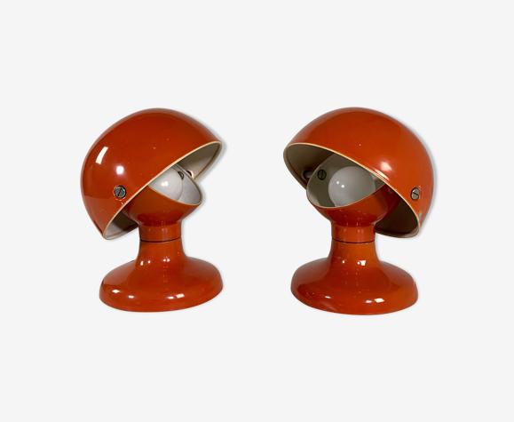 """Paire de lampes """"Jucker 147"""" par Tobia & Afra Scarpa pour Flos, 1960"""