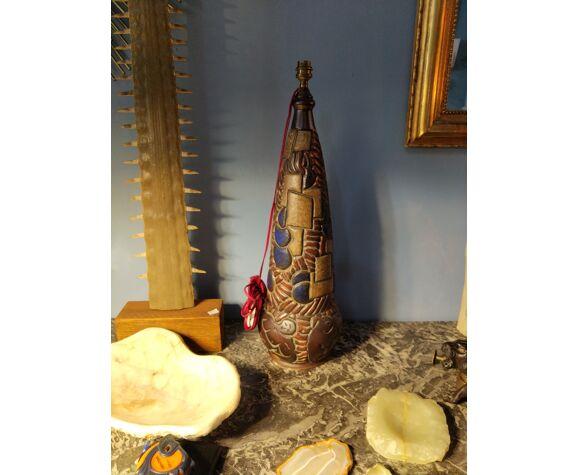 Pied de lampe en céramique Mougin