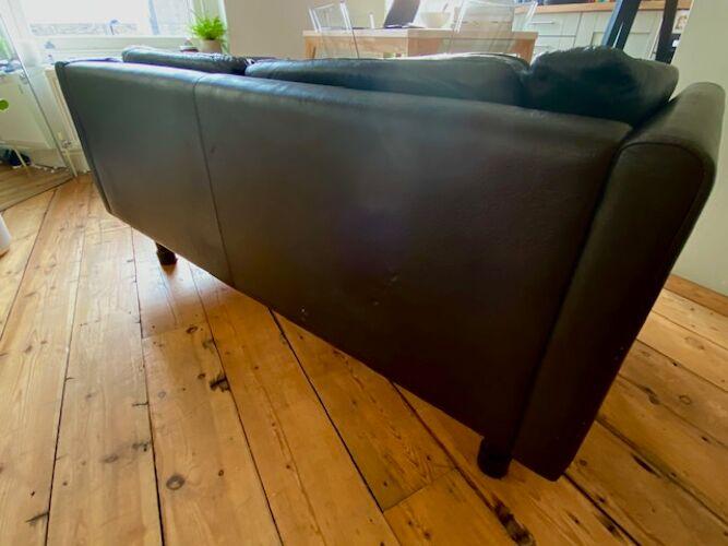 Canapé danois biplace des années 1970